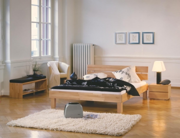 hasena wood line massivholzbett buche 160x200cm duo cantu. Black Bedroom Furniture Sets. Home Design Ideas