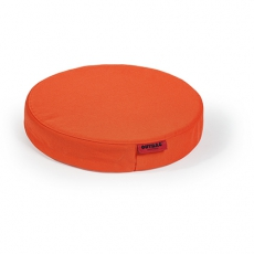 Outbag Disc l Outdoor Stuhlkissen l Sitzauflage l Orange