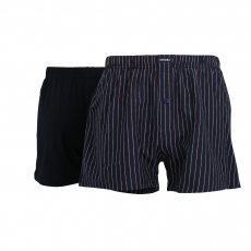 CECEBA Shorts 2er Pack Pack l Foxe-Packet B l Größe L l navy-red