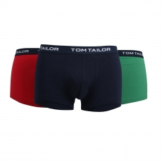 Tom Tailor Hip Pants 3er Pack l Buffer G4 l Größe L l red-navy-green