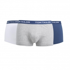Tom Tailor Hip Pants 3er Pack l Buffer G4 l Größe L l white-light-solid (8491)