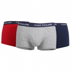 Tom Tailor Hip Pants 3er Pack l Buffer G4 l Größe L l red-medium-solid (8492)
