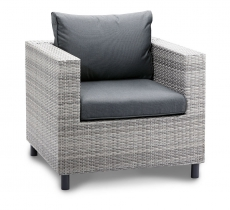 BEST Sessel Lounge Bonaire warm-grey