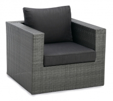 BEST Sessel Lounge Aruba anthrazit/anthrazit