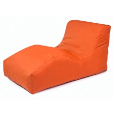Outbag Sitzsack Wave l Gartenliege l Plus Orange