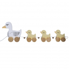 Bloomingville Pull Along Toy l Multi-color l MDF