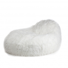 Pushbag Living - Modell Seat XL im Dessin FUR white