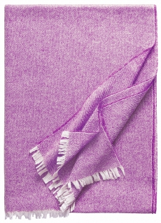 Eagle Products Donna aus Kaschmir-Seide Mix l Cashmere Silk Plaid l Fuchsia