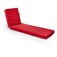 Outbag Outdoor Gartenliege Flat in Plus Red