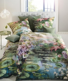 fleuresse Bed Art G-113952 Mako-Satin Bettwäsche l 135x200 l SEEROSE